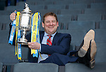 William Hill Scottish Cup 5th Round draw. Hampden Park: David Bryce, Spartans FC