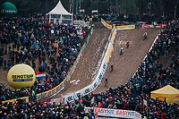 diving into the infamous &quot;Pit&quot; aka &quot;De Kuil&quot;<br /> <br /> Superprestige Zonhoven (BEL) 2018