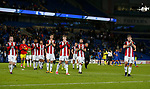 The players applaud the fans during the Championship match at the Cardiff City Stadium, Cardiff. Picture date: August 15th 2017. Picture credit should read: Simon Bellis/Sportimage