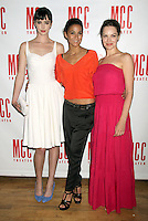 June 14 , 2012 Krysten Ritter, Emmanuelle Chriqui, Tammy Blanchard attends the MCC Theater's benefit reading of The Heart Of The Matter afterparty  at the Ramscale in New York City. © RW/MediaPunch Inc. NORTEPHOTO.COM<br />