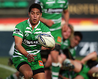 Manawatu halfback Aaron Smith in action during the Air NZ Cup preseason match between Manawatu Turbos and Wellington Lions at FMG Stadium, Palmerston North, New Zealand on Friday, 17 July 2009. Photo: Dave Lintott / lintottphoto.co.nz