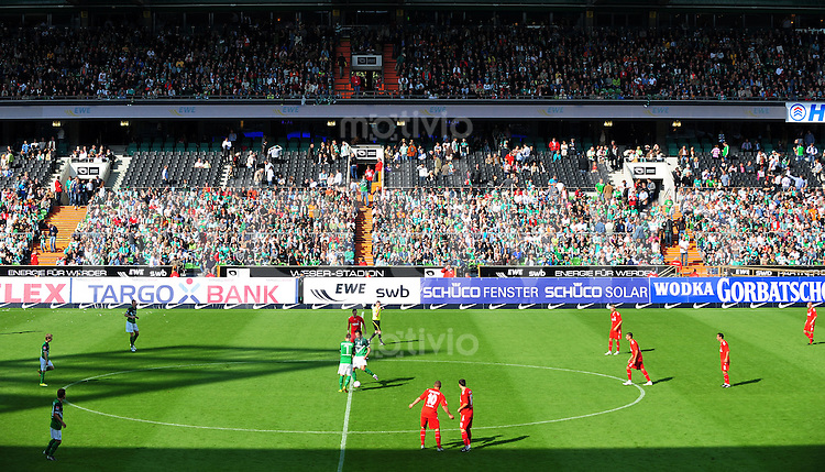 FUSSBALL   1. BUNDESLIGA   SAISON 2010/2011   2. SPIELTAG SV Werder Bremen - 1. FC Koeln      28.08.2010 Bremer VIP-Tribuene beim Anpfiff der zweiten Halbzeit