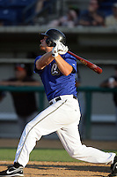 August 9 2009: Jay Brossman of the Rancho Cucamonga Quakes during game against the San Jose Giants at The Epicenter in Rancho Cucamonga,CA.  Photo by Larry Goren/Four Seam Images