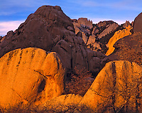 Granite Forms in Spring Evening Light, Proposed Granite Peak Wilderness, Utah