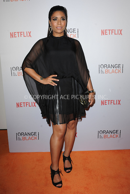 WWW.ACEPIXS.COM<br /> June 11, 2015 New York City<br /> <br /> Jessica Pimentel attending the 'Orangecon' Fan Event at Skylight Clarkson SQ on June 11, 2015 in New York City.<br /> <br /> Credit : Kristin Callahan/ACE Pictures<br /> Tel: (646) 769 0430<br /> e-mail: info@acepixs.com<br /> web: http://www.acepixs.com