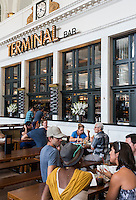 Terminal Bar at the Crawford Hotel in Union Station in Denver, Colorado, Saturday, August 27, 2016. <br /> <br /> Photo by Matt Nager