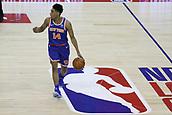 17th January 2019, The O2 Arena, London, England; NBA London Game, Washington Wizards versus New York Knicks; Allonzo Trier of the New York Knicks