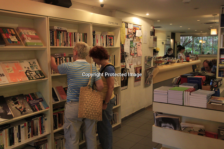 Israel, Tel Aviv-Yafo, Tola'at Sfarim cafe'