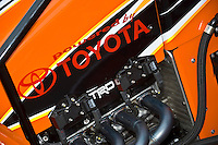 28 June, 2008, Tracy, California, USA.TOYOTA's sprint car engine..©2008 F.Peirce Williams, USA.F. Peirce Williams.photography.