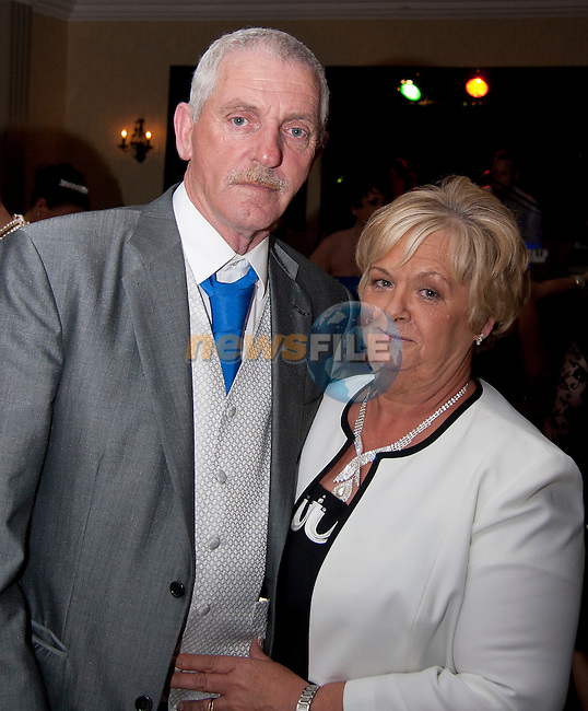 Kenneth and Eileen McGuirk; parents of the bride, Denise Tuohy..Picture: Shane Maguire / www.newsfile.ie.
