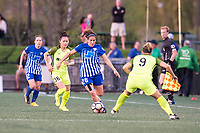 Boston, MA - Saturday April 29, 2017: Angela Salem during a regular season National Women's Soccer League (NWSL) match between the Boston Breakers and Seattle Reign FC at Jordan Field.