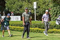 Patrick Reed (USA) and Kevin Kisner (USA) head down 2 during round 3 of the World Golf Championships, Mexico, Club De Golf Chapultepec, Mexico City, Mexico. 2/23/2019.<br /> Picture: Golffile | Ken Murray<br /> <br /> <br /> All photo usage must carry mandatory copyright credit (© Golffile | Ken Murray)