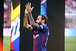 52e Trofeu Joan Gamper.<br /> FC Barcelona vs Chapecoense: 5-0.<br /> Aleix Vidal.