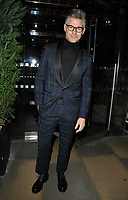 Eric Rutherford at the LFW (Men's) a/w2018 GQ Dinner, Berners Tavern, The London Edition Hotel, Berners Street, London, England, UK, on Monday 08 January 2018.<br /> CAP/CAN<br /> &copy;CAN/Capital Pictures