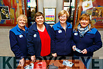 4 Recovery Haven volunteers, Breda Carmody, Tina Cunningham, Maureen O'Brien and Kathleen Collins at their their annual Easter concert in aid of Recovery Haven Kerry in St Brendans Church on Sunday evening.