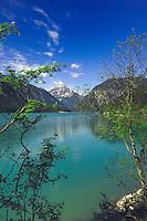 Lake Plansee near Reutte, Austrian Alps. Austria.
