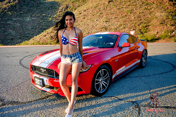 Patriotic Series with Mercedes