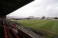 General view of the ground during Dagenham & Redbridge vs Gateshead, Vanarama National League Football at the Chigwell Construction Stadium on 16th February 2019