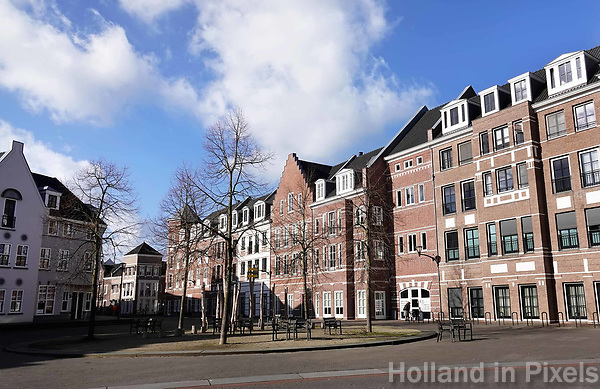 Nederland  Helmond-  2018.   Nieuwbouwwijk Brandevoort.   Foto Berlinda van Dam / Hollandse Hoogte
