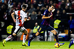 Sergio Busquets Burgos of FC Barcelona in action during the La Liga 2018-19 match between Rayo Vallecano and FC Barcelona at Estadio de Vallecas, on November 03 2018 in Madrid, Spain. Photo by Diego Gouto / Power Sport Images