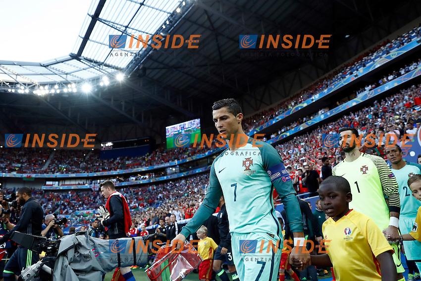 Cristiano Ronaldo (Portugal)<br /> Lyon 06-07-2016 Stade de Lyon Football Euro2016 Portugal - Wales / Portogallo - Galles Semi-finals / Semifinali <br /> Foto Matteo Ciambelli / Insidefoto