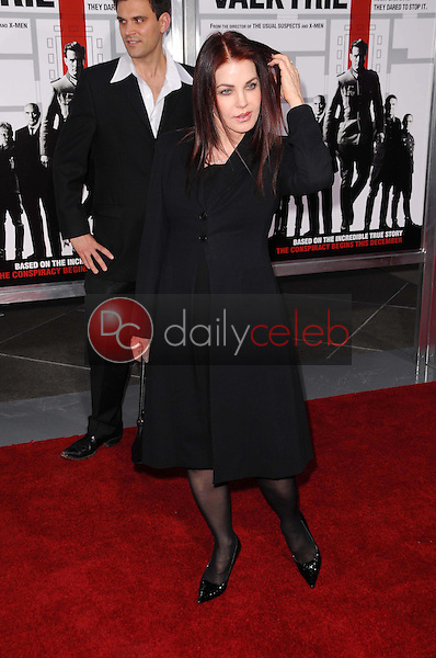 Priscilla Presley <br /> at the Los Angeles Premiere of 'Valkyrie'. The Directors Guild of America, Los Angeles, CA. 12-18-08<br /> Dave Edwards/DailyCeleb.com 818-249-4998