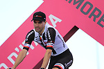 Tom Dumoulin (NED) Team Sunweb at the Team Presentation in Alghero, Sardinia for the 100th edition of the Giro d'Italia 2017, Sardinia, Italy. 4th May 2017.<br /> Picture: Eoin Clarke | Cyclefile<br /> <br /> <br /> All photos usage must carry mandatory copyright credit (&copy; Cyclefile | Eoin Clarke)