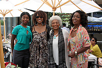 LOS ANGELES - AUG 20:  Shawn Mitchell, Beverly Todd, Nichelle Nichols, Judy Pace Flood at the Julia Pace Mitchell Bridal Shower at the W Hotel - Westwood on August 20, 2011 in Westwood, CA