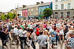Fleadh Na Mumhan: Polka set dancing  on the platform in the Square on Sunday afternoon last during Fleadh Cheoil na Mumhan in Listowel.