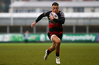 Jared Rosser of Dragons during the European Challenge Cup match between Dragons and Bordeaux Begles at Rodney Parade, Newport, Wales, UK. 20 January 2018