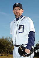 Feb 21, 2009; Lakeland, FL, USA; The Detroit Tigers pitcher Scott Williamson (76) during photoday at Tigertown. Mandatory Credit: Tomasso De Rosa/ Four Seam Images