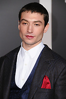 13 November  2017 - Hollywood, California - Ezra Miller. &quot;Justice League&quot; Los Angeles Premiere held at The Dolby Theater in Hollywood. <br /> CAP/ADM/BT<br /> &copy;BT/ADM/Capital Pictures