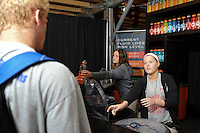Activity at the gatorade bar during day one of the US Soccer Development Academy  Spring Showcase in Sarasota, FL, on May 22, 2009.