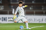 Goalkeeper Kwoun Suntae in action during the AFC Champions League 2017 Group E match between Ulsan Hyundai FC (KOR) vs Kashima Antlers (JPN) at the Ulsan Munsu Football Stadium on 26 April 2017, in Ulsan, South Korea. Photo by Yu Chun Christopher Wong / Power Sport Images