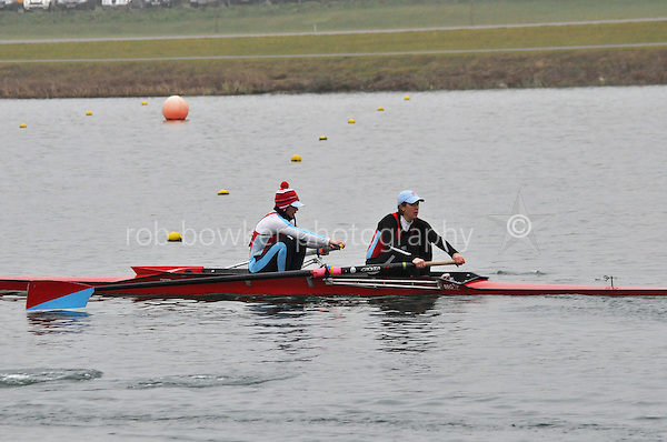 110 WallingfordRC W.SEN.2‐..Marlow Regatta Committee Thames Valley Trial Head. 1900m at Dorney Lake/Eton College Rowing Centre, Dorney, Buckinghamshire. Sunday 29 January 2012. Run over three divisions.