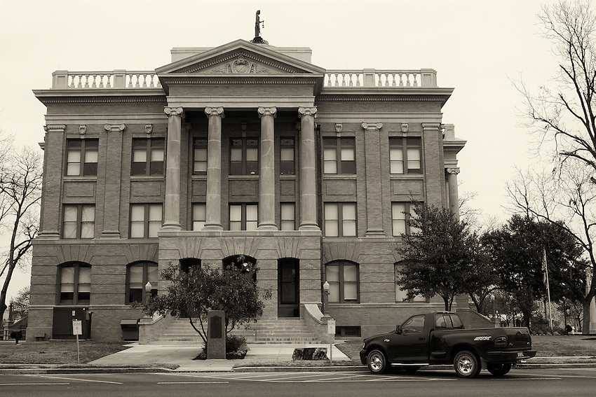 Georgetown Courthouse & my old F-150.