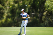 9th February 2018, Lake Karrinyup Country Club, Karrinyup, Australia; ISPS HANDA World Super 6 Perth golf, second round; Robert Allenby (AUS) plays a shot