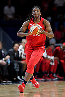 Washington, DC - August 25, 2019: Washington Mystics forward Myisha Hines-Allen (2) during second half action of game between the New York Liberty and the Washington Mystics at the Entertainment and Sports Arena in Washington, DC. The Mystics defeated New York 101-72. (Photo by Phil Peters/Media Images International)