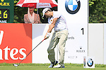 Pablo Larrazabal tees off on the 1st tee to start his round on Day 3 of The BMW International Open Munich at Eichenried Golf Club, 26th June 2010 (Photo by Eoin Clarke/GOLFFILE).