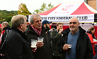 Lincoln City fans enjoy the pre-match atmosphere in the fan zone<br /> <br /> Photographer Chris Vaughan/CameraSport<br /> <br /> The EFL Sky Bet League Two - Lincoln City v Chesterfield - Saturday 7th October 2017 - Sincil Bank - Lincoln<br /> <br /> World Copyright &copy; 2017 CameraSport. All rights reserved. 43 Linden Ave. Countesthorpe. Leicester. England. LE8 5PG - Tel: +44 (0) 116 277 4147 - admin@camerasport.com - www.camerasport.com