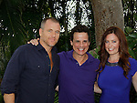 Sean Carrigan, Christian LeBlanc, Melissa Archer - Actors from Y&R, General Hospital and Days donated their time to Southwest Florida 16th Annual SOAPFEST - a celebrity weekend May 22 thru May 25, 2015 benefitting the Arts for Kids and children with special needs and ITC - Island Theatre Co. as it presented A Night of Stars on May 23 , 2015 at Bistro Soleil, Marco Island, Florida. (Photos by Sue Coflin/Max Photos)