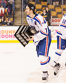 Tyler Mueller (UML - 7) The University of Massachusetts-Lowell River Hawks defeated the Boston College Eagles 4-3 to win the 2017 Hockey East tournament at TD Garden on Saturday, March 18, 2017, in Boston, Massachusetts.