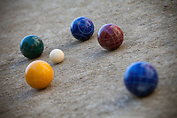A Set of Bocce Balls
