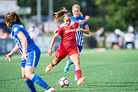 Boston, MA - Saturday July 01, 2017: Mallory Pugh during a regular season National Women's Soccer League (NWSL) match between the Boston Breakers and the Washington Spirit at Jordan Field.