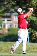 Bethesda, MD - July 1, 2017: Patrick Reed hits his tee shot during Round 3 of professional play at the Quicken Loans National Tournament at TPC Potomac in Bethesda, MD, July 1, 2017.  (Photo by Elliott Brown/Media Images International)