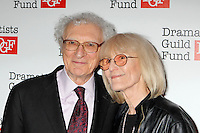 Sheldon Harnick and wife Margery attend The Dramatists Guild Fun's 50th Anniversary Gala at the Mandarin Oriental in New York, 03.06.2012...Credit: Rolf Mueller/face to face /MediaPunch Inc. ***FOR USA ONLY***