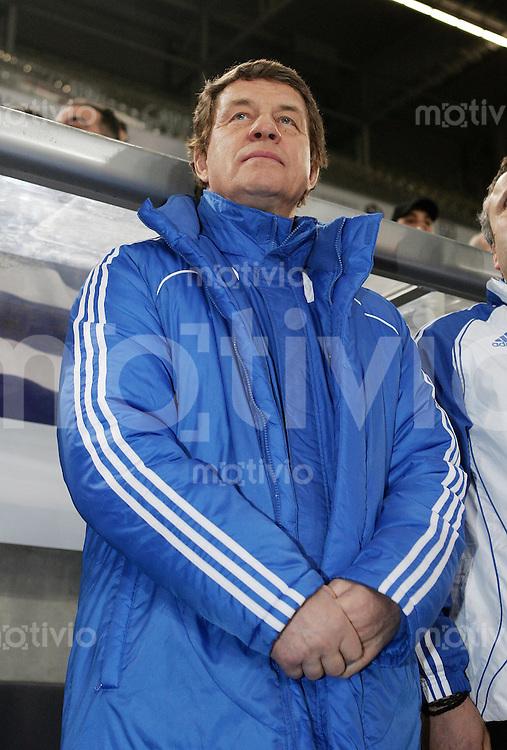 FUSSBALL     Internationales Testlaenderspiel     SAISON 2007/2008  Portugal - Griechenland              26.03.2008 Trainer Otto REHHAGEL (Griechenland)