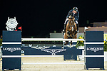 Robert Smith of Great Britain riding Ilton competes in the Hong Kong Jockey Club Trophy during the Longines Masters of Hong Kong at the Asia World Expo on 09 February 2018, in Hong Kong, Hong Kong. Photo by Ian Walton / Power Sport Images