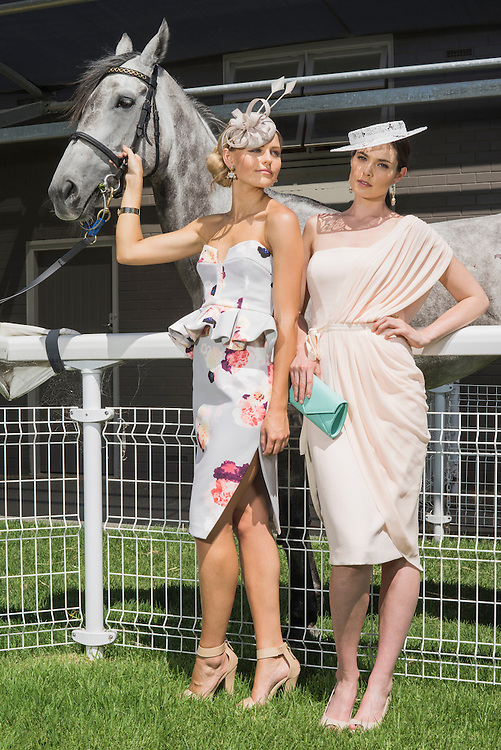 The Races South Australia , Fashion Photoshoot Morphettville racecourse . Photo: Nick Clayton