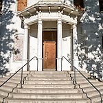 Abandoned and historic county courthouse, Hawthorne, Nevada